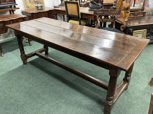 18th Century Oak Farmhouse Dining or Kitchen Table (1 of 7)