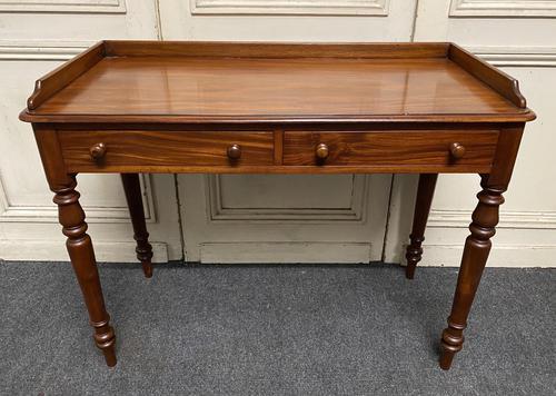 Mahogany  2 Drawer Writing Table (1 of 12)