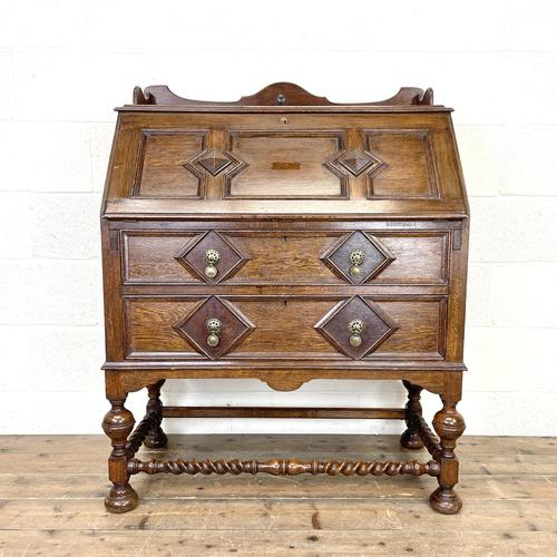 Early 20th Century Antique Bureau (1 of 9)