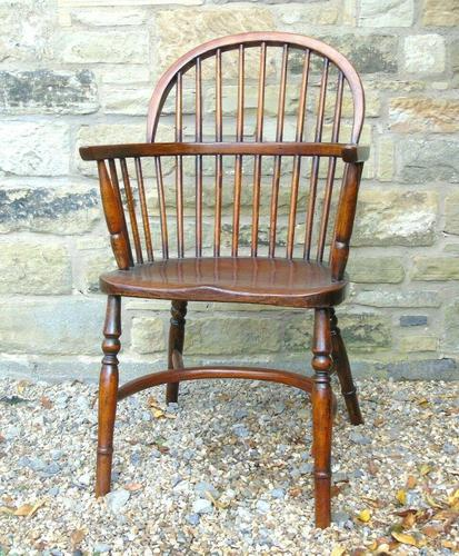 Antique Oak Windsor Chair (1 of 8)