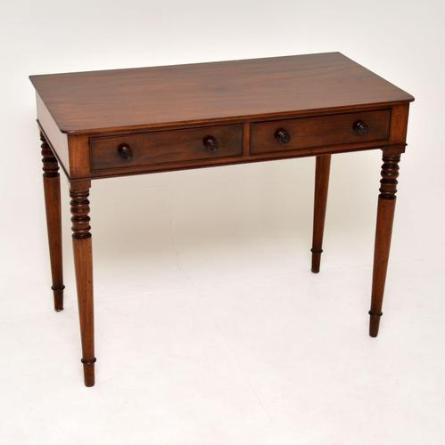 Antique William IV  Mahogany Writing Table (1 of 9)