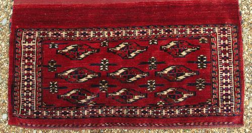 Antique Yomut Chuval Rug (1 of 4)