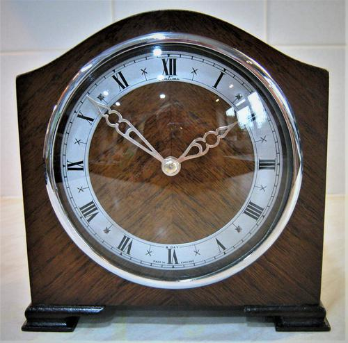 Early 1950's English Bracket Clock by Bentima / Davall (1 of 7)