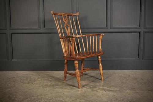 Elm Comb Back Windsor Chair (1 of 11)