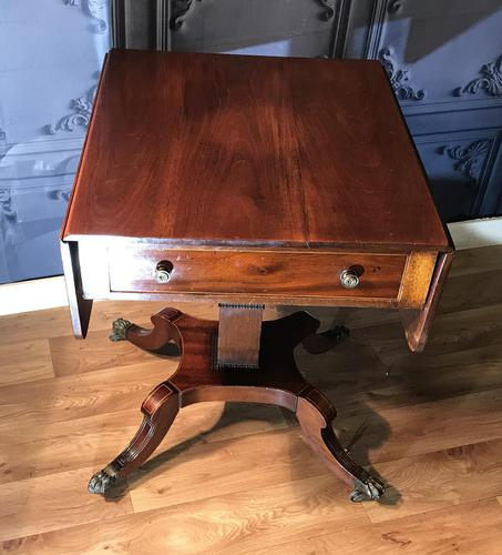 Regency Mahogany Sofa Table (1 of 9)