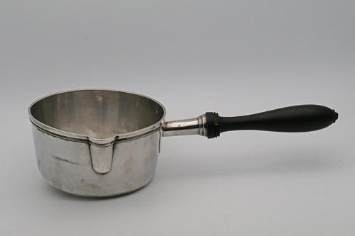 French 19th Century Silver Saucepan (1 of 5)