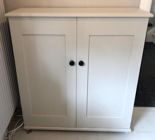 Overpainted Two Door Cupboard (1 of 6)