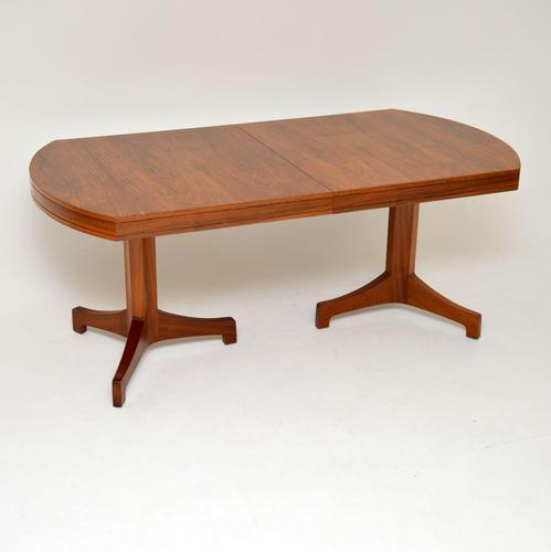 1960's Vintage Walnut Extending Dining Table by Robert Heritage (1 of 11)