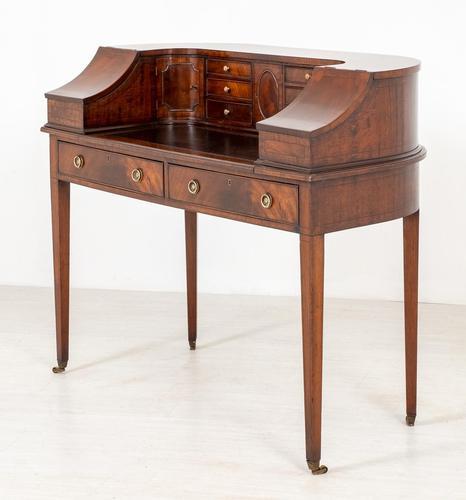 Regency Style Mahogany Carlton House Desk c.1900 (1 of 11)