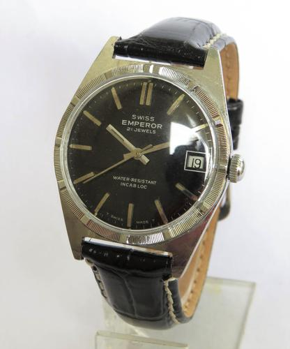 Gents 1960s Swiss Emperor Wrist Watch (1 of 4)