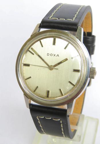 Gents 1960s Doxa Wrist Watch (1 of 5)