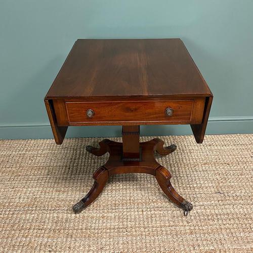 Beautiful Victorian Mahogany Antique Sofa Table (1 of 8)