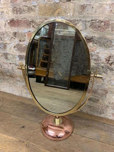 Bronze Table Top Mirror c.1930 (1 of 5)