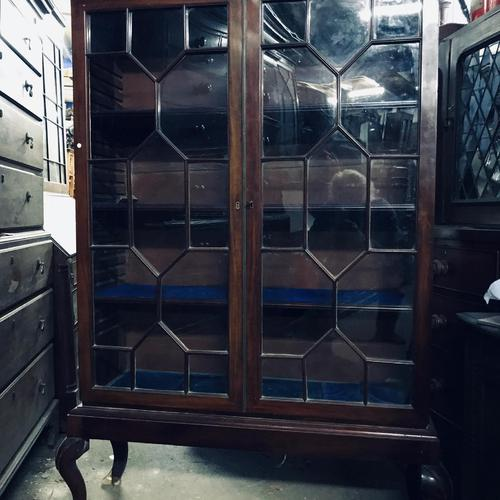 Good Early Glazed Bookcase (1 of 4)