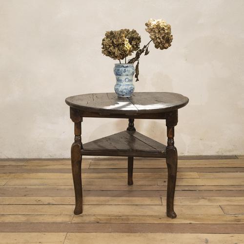 18th Century Oak Cricket Table (1 of 16)