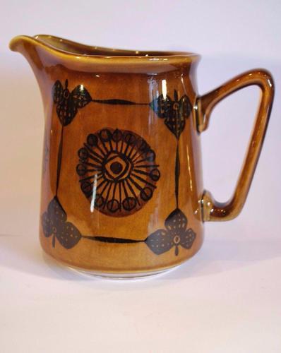 Mid Century Norwegian Pottery Jug - Stavangerflint Sera - Inger Waage (1 of 6)
