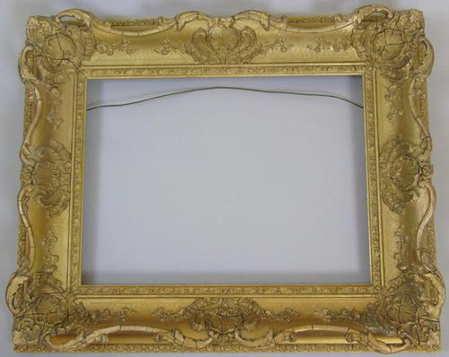 "Good Early Victorian Swept Gilt Frame Suit Painting 16""x12"" (1 of 3)"