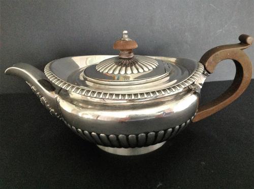 Antique Georgian Silver Teapot - 1820 (1 of 6)