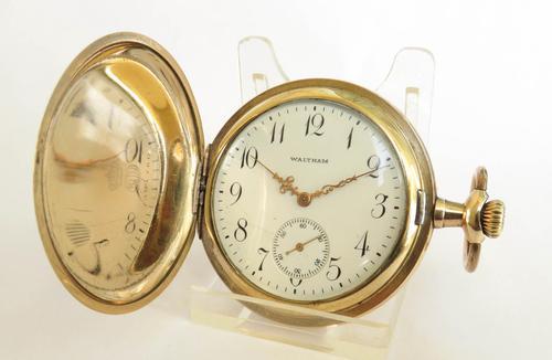 Antique Waltham Full Hunter Pocket Watch 1908 (1 of 5)