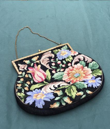 Vintage Tapestry Colourful Bag (1 of 3)