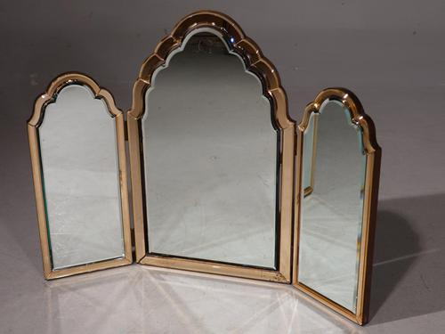 An Exceptional Art Deco Period Triptych Mirror (1 of 2)