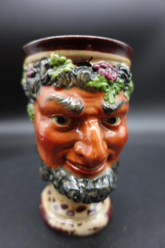 Well Modelled Mid 19th Century Bacchus Pottery Jug (1 of 5)