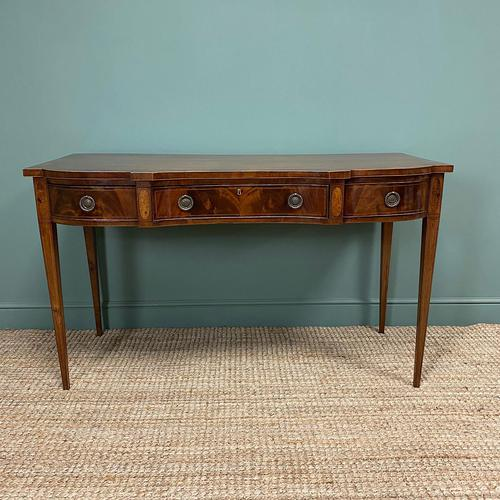 Victorian Mahogany Antique Console Table (1 of 9)