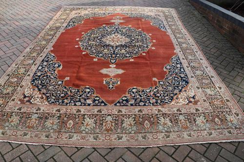 Fine Antique Tabriz Carpet (1 of 8)