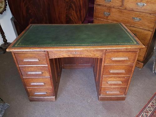 Antique Oak Desk (1 of 6)