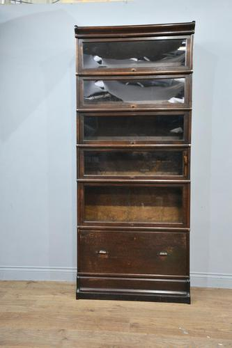 Antique Oak Globe Wernicke Bookcase (1 of 4)