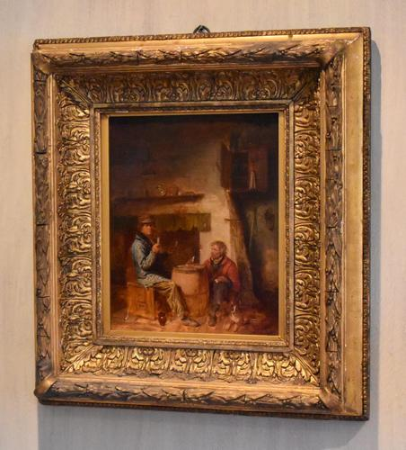 Superb oil painting by Edmund Bristow (1787-1876) (1 of 11)