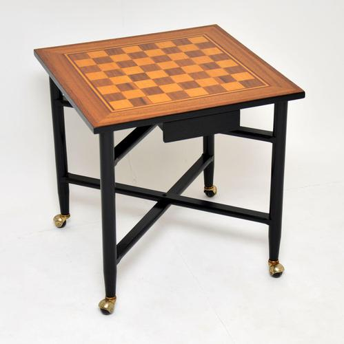 1960's Vintage Games / Chess Table (1 of 10)