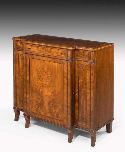 Regency Period Mahogany Breakfront Side Cabinet (1 of 6)