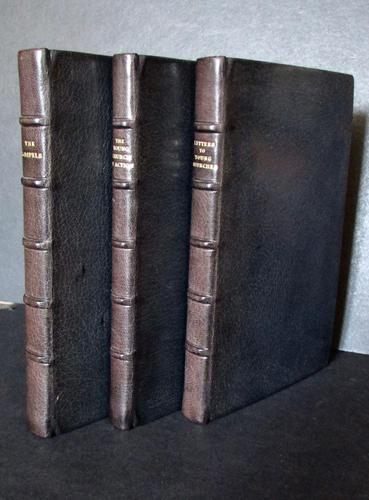 1956 - 1957 Collection of Full Leather Religious Books BY J B Phillips (1 of 5)
