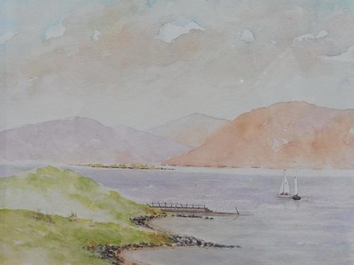 Watercolour Isle of Mull Artist Joyce Dalgety (1 of 10)