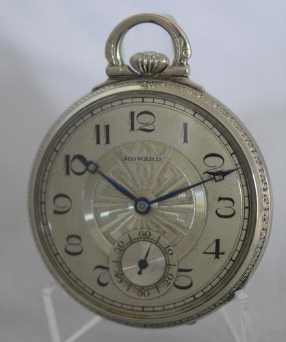 Howard Watch Company Pocket Watch (1 of 4)