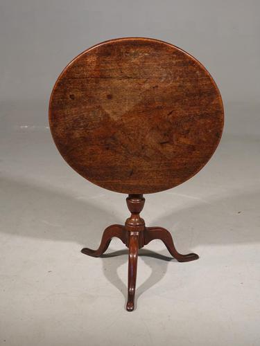 Elegant George III Period Occasional Tilt Table (1 of 4)