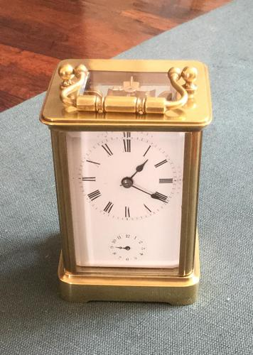 French Timepiece Carriage Alarm Clock (1 of 4)