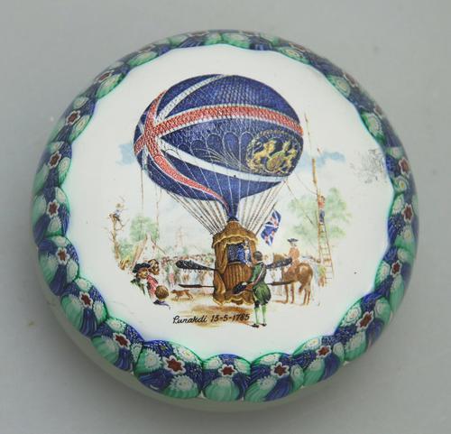 Vintage Art Glass Murano Novelty Ballooning Large Millefiori Paperweight 20th Century (1 of 3)