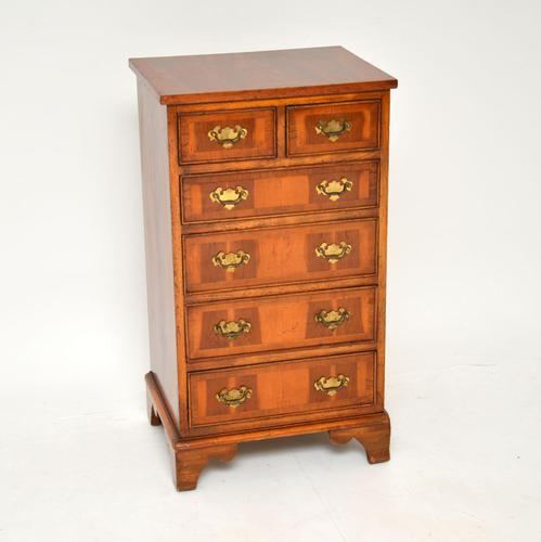 Georgian Style Yew Wood Chest of Drawers c.1940 (1 of 9)