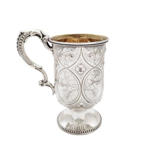 Antique Victorian Sterling Silver Christening Mug / Tankard 1892 (1 of 8)