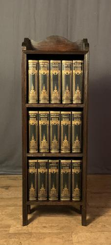 Rare Set Leather Bound Charles Dickens in Presentation Case (1 of 10)