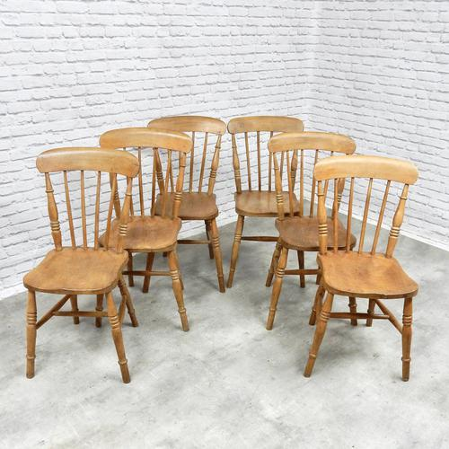 Set of 6 Windsor Stickback Kitchen Chairs (1 of 5)