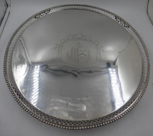 Fabulous Large George III Silver Salver London 1778 by Richard Rugg (1 of 11)