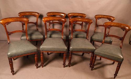 Good Set of 8 Early Victorian Century Dining Chairs (1 of 12)