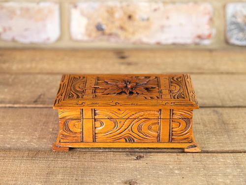 Carved Trinket Box 1930's (1 of 6)