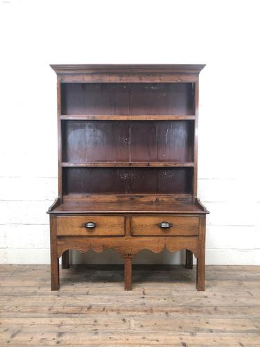 Small Antique Oak Farmhouse Country or Cottage Dresser (1 of 12)