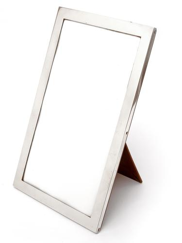Large Good Quality Chester Silver Photo Frame with Plain Silver Mount (1 of 4)