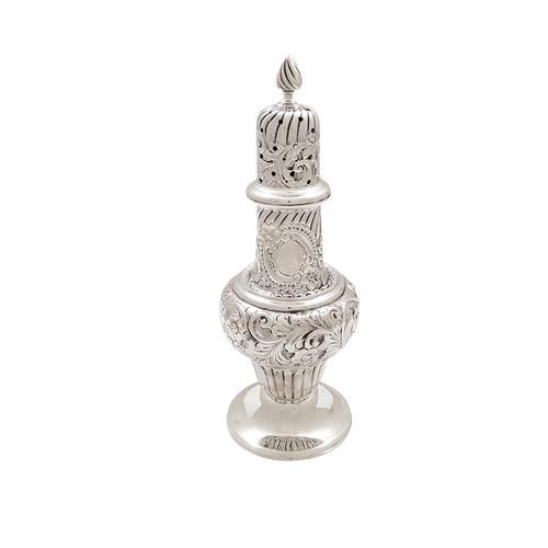 Antique Edwardian Sterling Silver Sugar Shaker / Caster 1901 (1 of 8)
