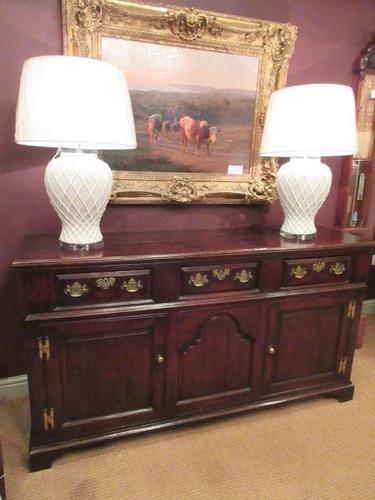 Superb George II Period Antique Oak Dresser (1 of 7)